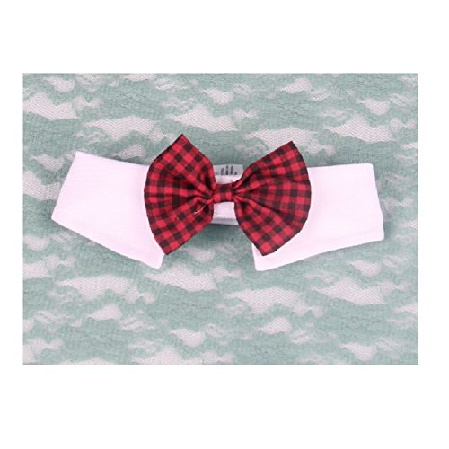 Stock Show Handcrafted Adorable Classic Pet Plaid Bow Ties Collar for Wedding Party Special Occasions, (Dapper Dog Pet Costumes)