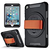 Best Kickstand Cases For Apple IPads - iPad Mini 4 case, Samcore Shockproof 360 Degree Review