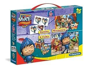 Mike El Caballero - Mini Edukit, 3 juegos en 1 (Clementoni 13443)