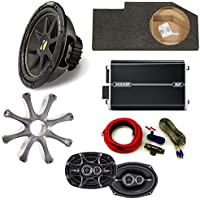 Kicker Dodge Ram 02-15 Loaded box with 10 Comp woofer w/ grille, 4 channel Amp, pair of 6x9 DS speakers w/ wiring kit.