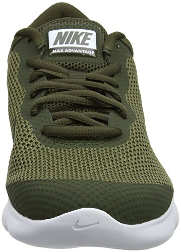 NIKE Men's Air Max Advantage Running Shoe Medium Olive/Sequoia-cargo Khaki-white discount big discount discount clearance finishline cheap price cheap big sale dyjxiRc9ik