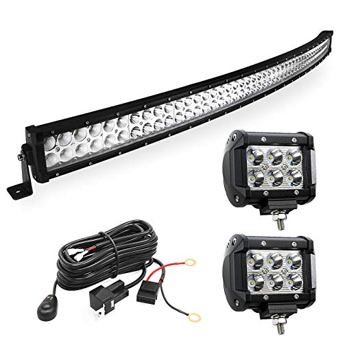 LED Light Bar YITAMOTOR Curved 50 Inch 288W Light Bar Combo