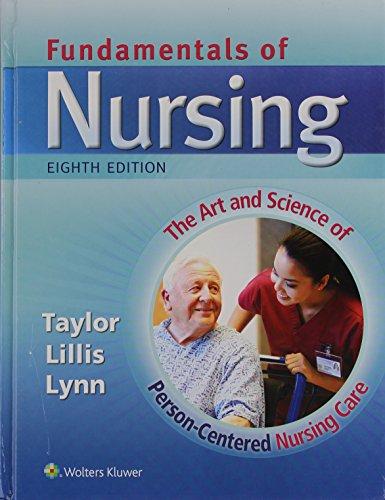 Taylor 8e Text, SG & PrepU; plus Lynn 4e Text Package by LWW