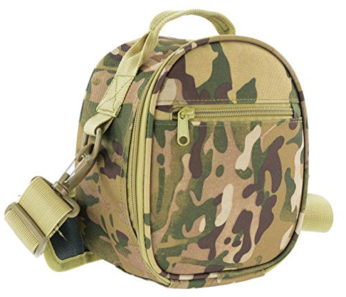 ACE Travel Case for Howard Leight Impact Sport, Impact PRO, MSA Sordin Supreme, Sportac Hearing Protection, Carry Bag with Adjustable Shoulder Strap, Multicam