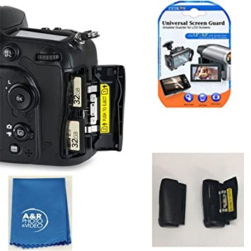 Tarjeta de memoria SD Puerta Cubierta para Nikon D7100 D7200 ...