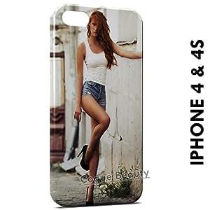 Carcasa Funda iPhone 4/4S Sexy Girl 30 Protectora Case Cover