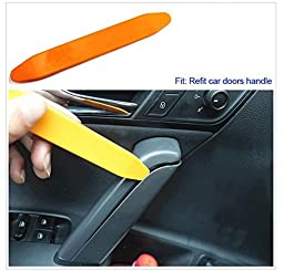 Car Auto Radio Audio Door Clip Panel Trim Dash Removal Pry Tool Kit-Easiest to Use Fastener Remover for Door Trim Molding Dash Panel-12pcs Kit Car Disassembly Tools