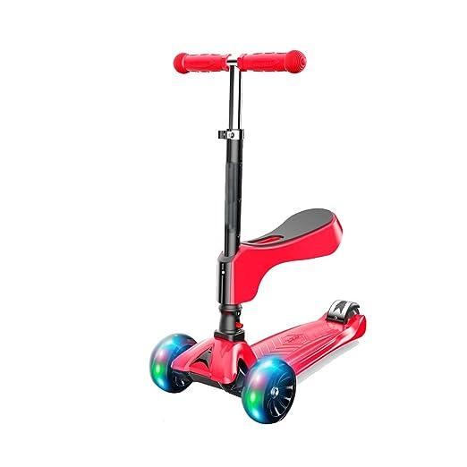 Scooter de tres ruedas Siéntese y deslice 2 en 1 altura ...