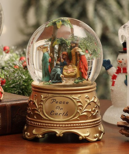 激安正規品 Peace on Peace Earth B00UVXFMB8 Waterglobe Nativity Waterglobe B00UVXFMB8, オーダーメイドケース世界のスマホ:b3f30394 --- irlandskayaliteratura.org