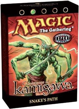 Kamigawa Deck Theme (Magic the Gathering Champions of Kamigawa Snake's Path Theme Deck Sealed)