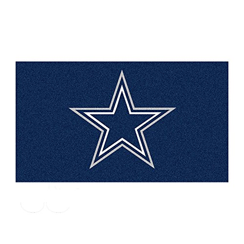 FANMATS 7523 Dallas Cowboys Rookie Mat (18