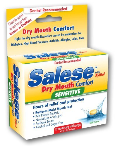 Salese Mild Lemon with Xylitol and ACP for Dry Mouth Sufferers by Nuvora, Inc. 4011L