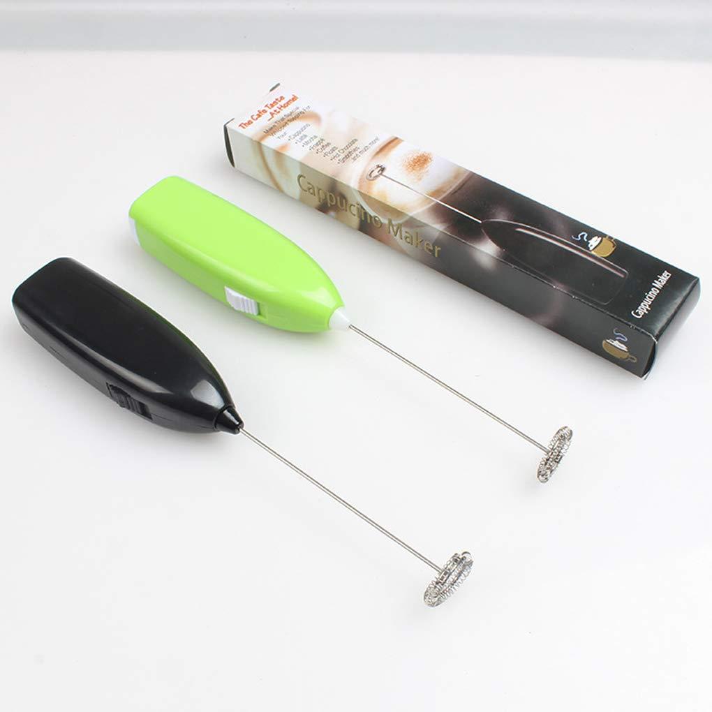 Floridivy Mini /électrique poign/ée de Cuisson Jus de Eggbeater Boissons Chaudes Fouets /à Lait caf/é Agitateur Foamer Fouet Mixer