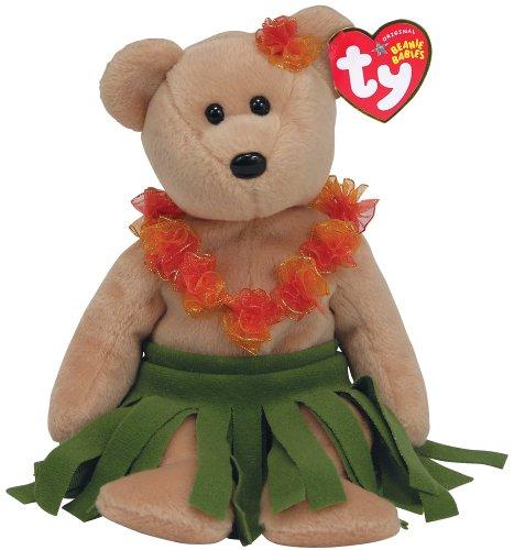 Ty Alana - Hawaii Bear - Aloha Bear Plush