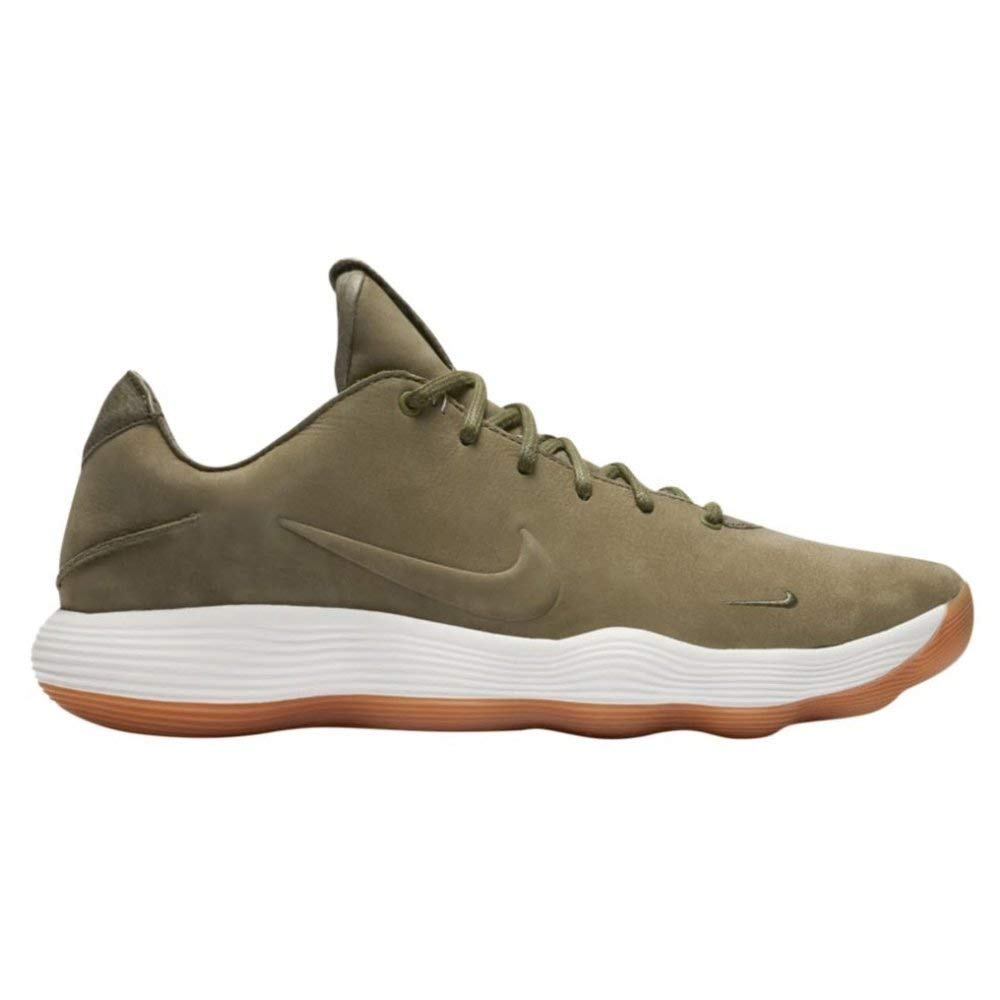 Nike Mens Hyperdunk 2017 Low Basketball Shoes (10.5, Olive/White ...