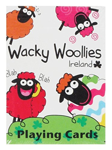 Dublin Gifts Wacky Woollies Playing Cards ()