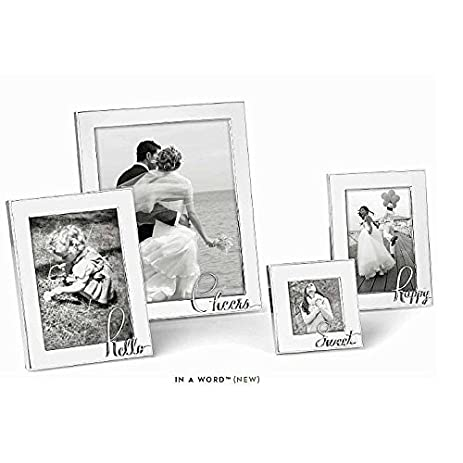 Amazon Kate Spade New York In A Word Happy 4x6 Picture Frame
