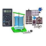 Wind Turbine & Solar Science Fair Experiment Kit