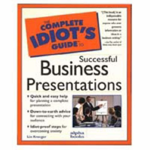 Cig: To Business Presentations: Complete Idiot's Guide (Complete Idiot's Guide to) by Lin Kroeger (1997-09-02) (Best Selling E Cig Uk)