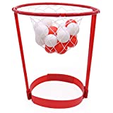 Toddlers Basketball Hoop Set,WDDH 20 Balls Catching Basketball Kid Game Head Strap Party Favors Game Children Outdoor Parent-Child Toy