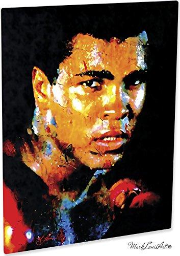 Mark Lewis Art Muhammad Ali Artwork Abstract Modern Paintings Signed Print   Wall Art Ar