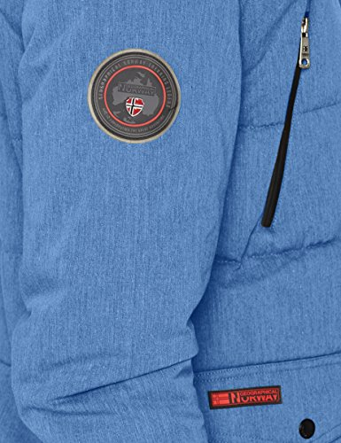 Royal Geographical Parka Amarily Blue Norway para Hombre Azul wqSYC7w