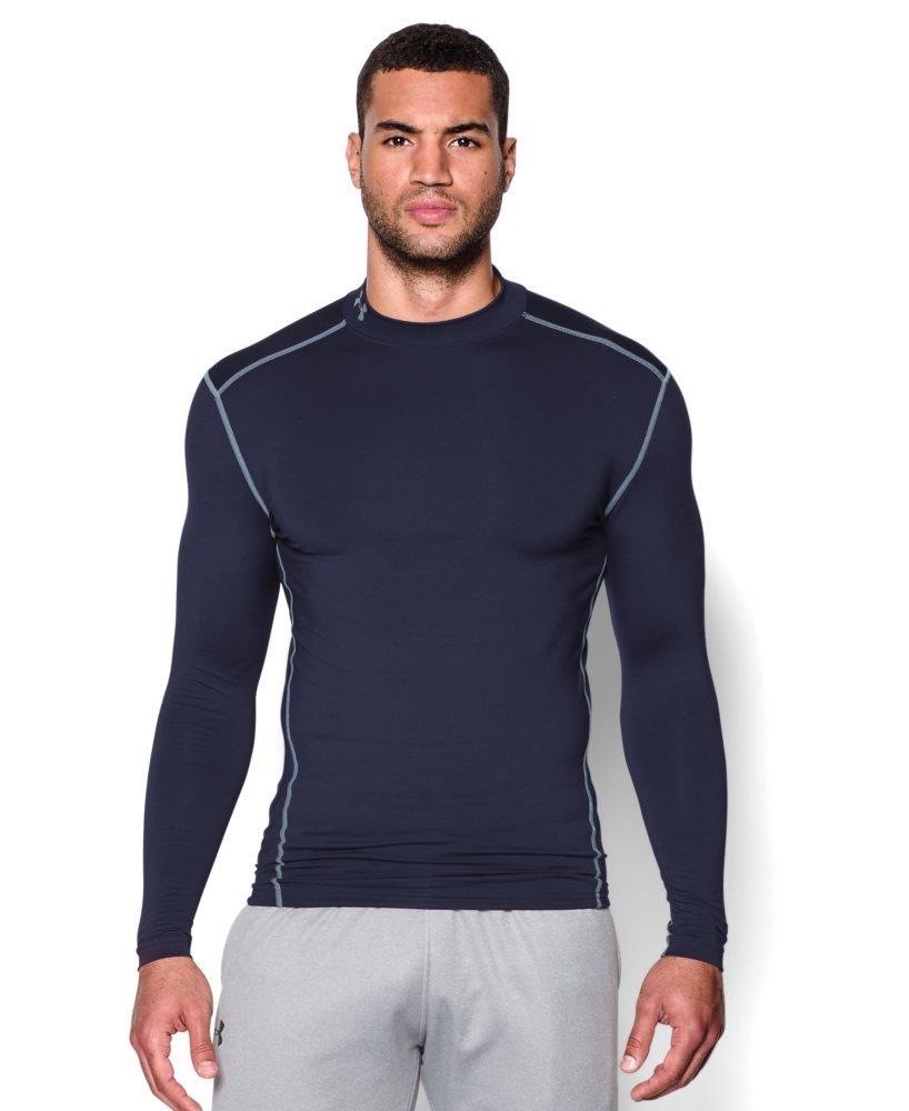 Under Armour Men's ColdGear Armour Compression Mock Long Sleeve Shirt