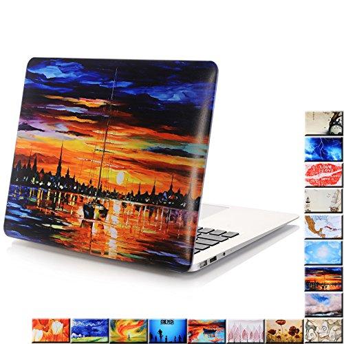 Macbook Air 13 Inch Case,YMIX Fancy Hard PC Shell  Ultra