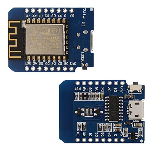 IZOKEE D1 Mini NodeMcu Lua 4M Bytes WLAN WIFI Internet Development Board Base on ESP8266 ESP-12F for Arduino, 100% Compatible with WeMos D1 Mini (Pack of 3) by IZOKEE (Image #2)