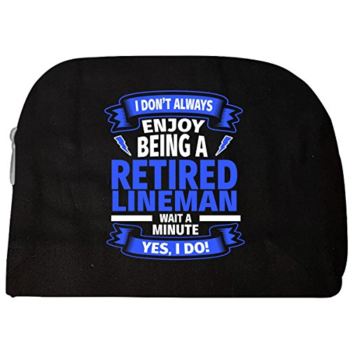 Retired Lineman - Funny Electrical Retiree - Cosmetic Case