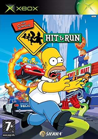 Image result for simpsons hit and run