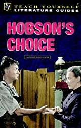 Teach Yourself English Literature Guide Hobson's Choice (Brighouse) (TYEL)