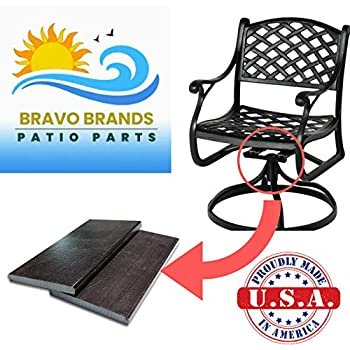 Fine Amazon Com Bravo Brands Patio Furniture Swivel Rocker 2 5 Pabps2019 Chair Design Images Pabps2019Com
