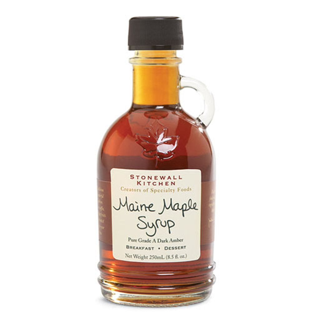 Amazon.com : Stonewall Kitchen Maine Maple Syrup - 8.5 fl oz : Maple ...