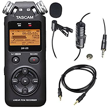 DR-05 Tascam Linear PCM Handheld Portable Digital Audio Recorder