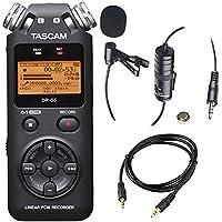 Tascam DR-05 (Version 2) Portable Handheld Digital Audio...