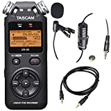 digital portable recorder - Tascam DR-05 (Version 2) Portable Handheld Digital Audio Recorder (Black) with Deluxe accessory bundle