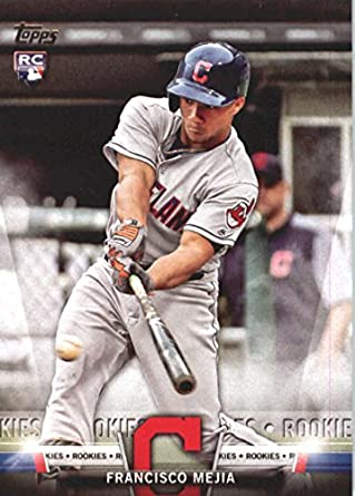 47b511509 2018 Topps Topps Salute  TS-85 Francisco Mejia NM-MT Cleveland Indians  Baseball