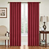 ECLIPSE Kendall Solid Blackout Window Curtains for