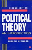 Political Theory, Andrew Heywood, 0312221649