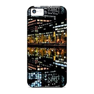 Snap-on Nightlife Reflection Cases Covers Skin Compatible With Iphone 5c