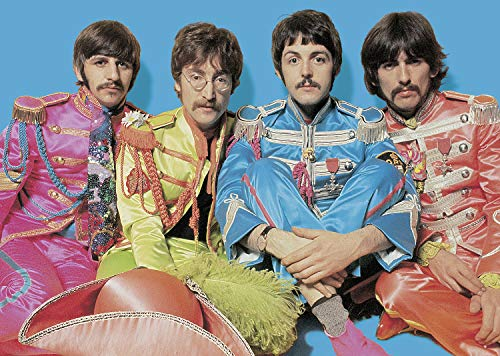 (Ravensburger The Beatles SGT. Pepper 1000 Piece Jigsaw Puzzle for Adults - Every Piece is Unique, Softclick Technology Means Pieces Fit Together Perfectly)