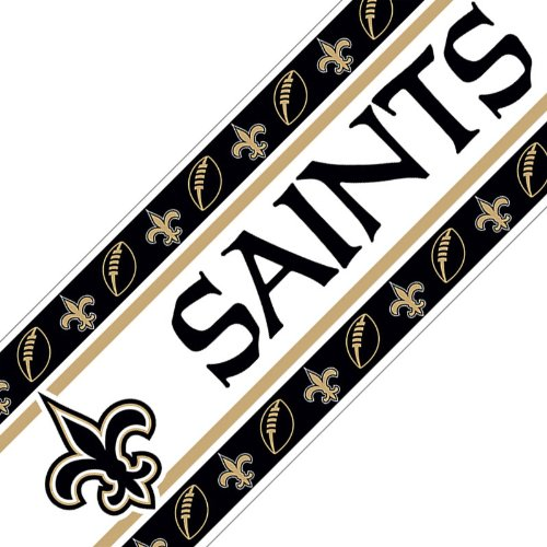 NFL New Orleans Saints Wall (Nfl Wall Border)