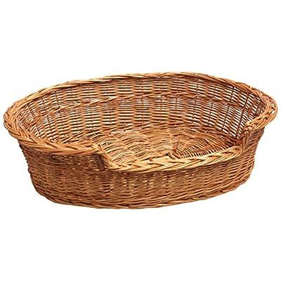 Cat Basket Prestige Wicker Dog, Cat, Pet Bed Basket Hand Made [tag]