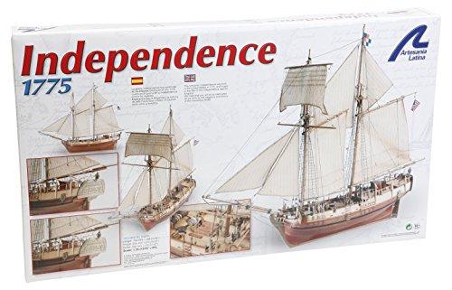 14 1/35 Independence Model Building Kit (Latina Wooden Ship Model)