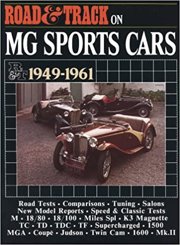 Road & Track on MG Sports Cars 1949-1961 (Brooklands Books Road Tests Series)