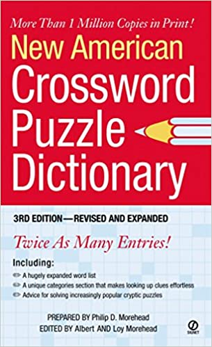 New American Crossword Puzzle Dictionary: 3rd Edition
