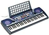 Yamaha PSR260AD 61-Note Touch-Sensitive Portable Electronic Keyboard with AC Adapter