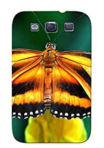 New Snap-on Eatcooment Skin Case Cover Compatible With Galaxy S3- Butterfly
