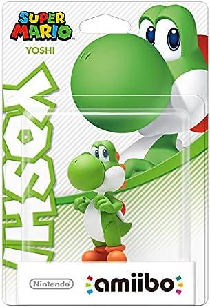 Nintendo - Colección Super Mario, Figurina Amiibo Yoshi: Amazon ...